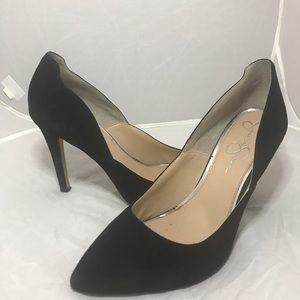 Jessica Simpson velvet point heels 👠